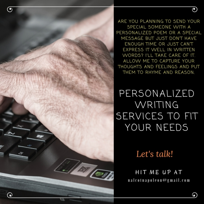 personalized writing services to fit your needs