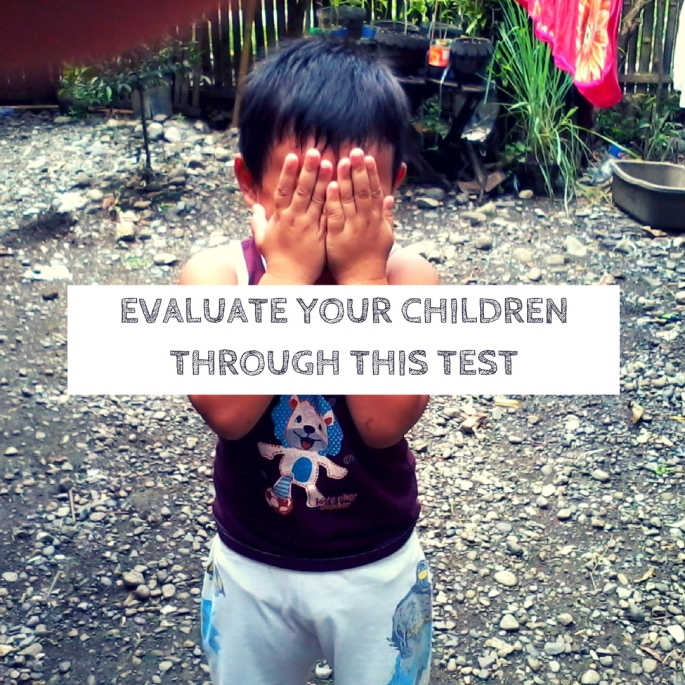 evaluate_your_child